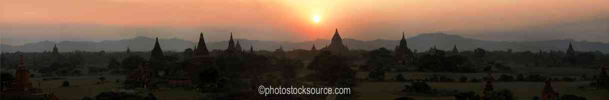 Shwe San Daw Sunset