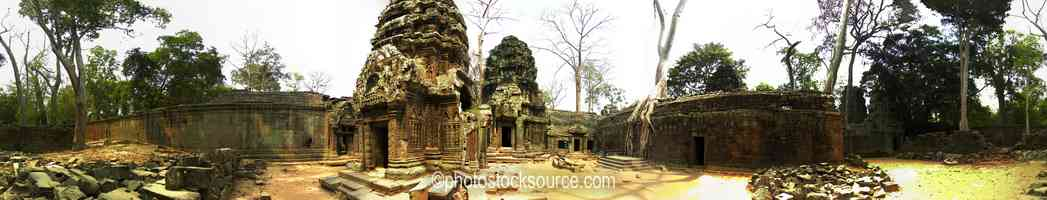 Ta Prohm East Courtyard