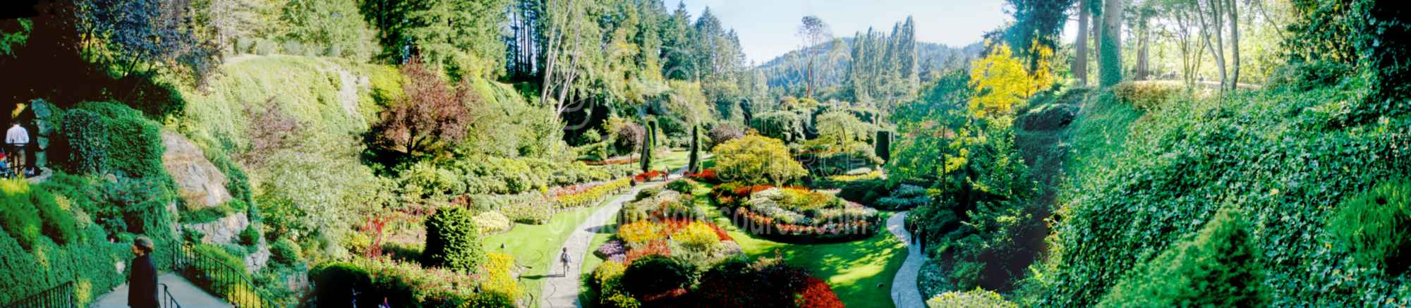 Sunken Garden Overlook