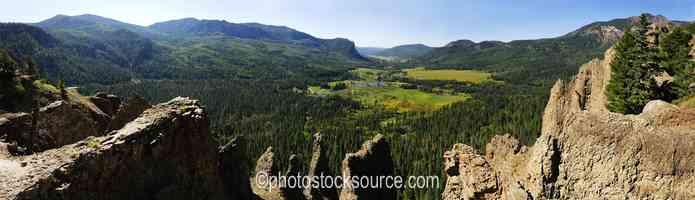 Wolf Creek Pass Overlook