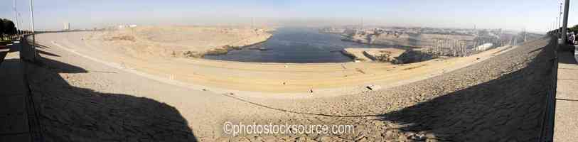North From High Aswan Dam