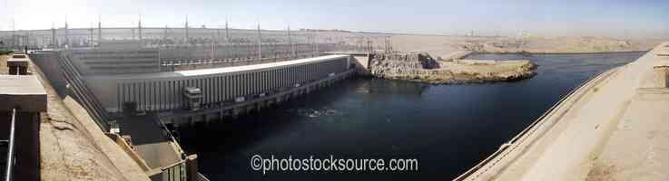 Aswan High Dam Outflow