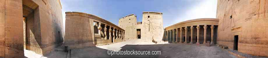 Philae Temple East Courtyard
