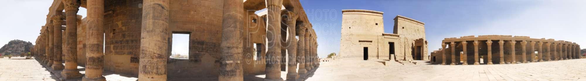 Philae Temple First Pylon