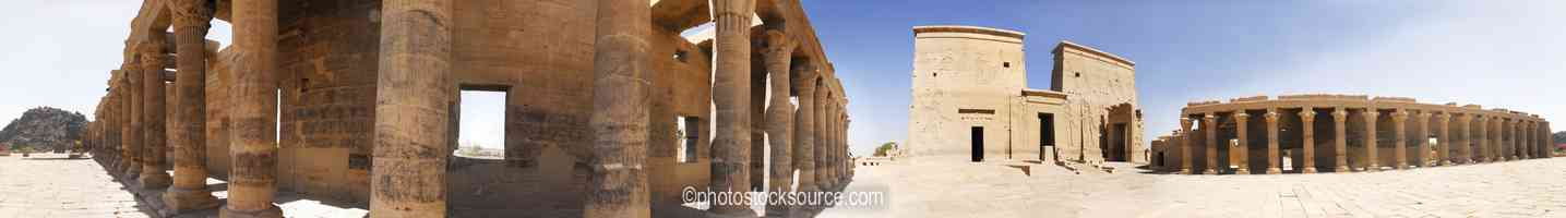 Philae Temple First Pylon