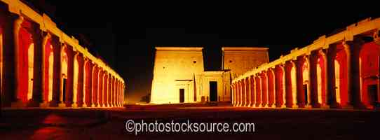Philae Temple Lightshow