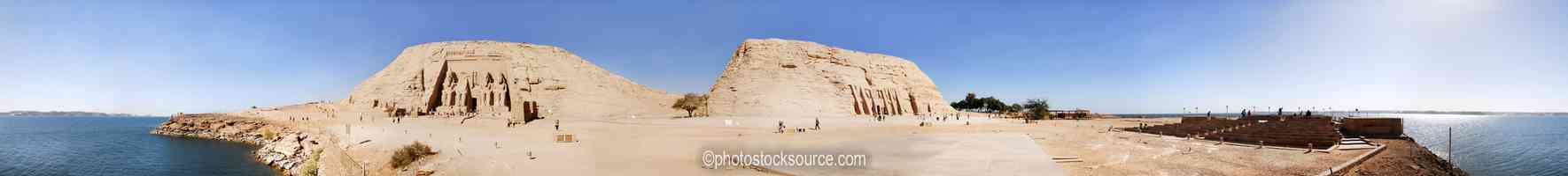 Abu Simbel and Hathor Temples