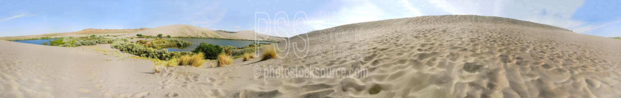 Bruneau Sand Dunes and Lake