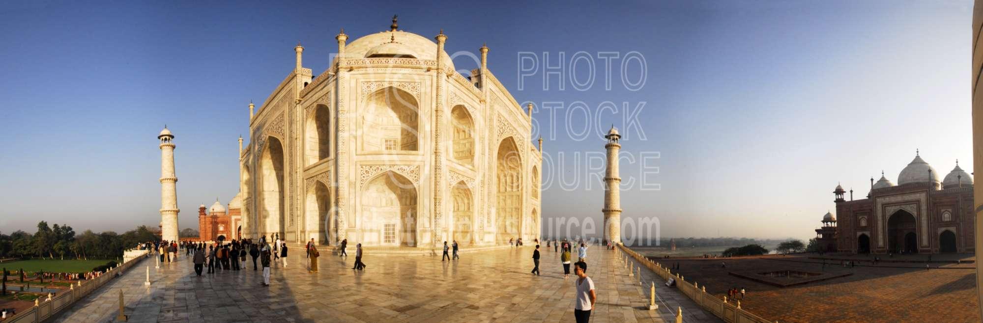Taj Mahal Main Entrance