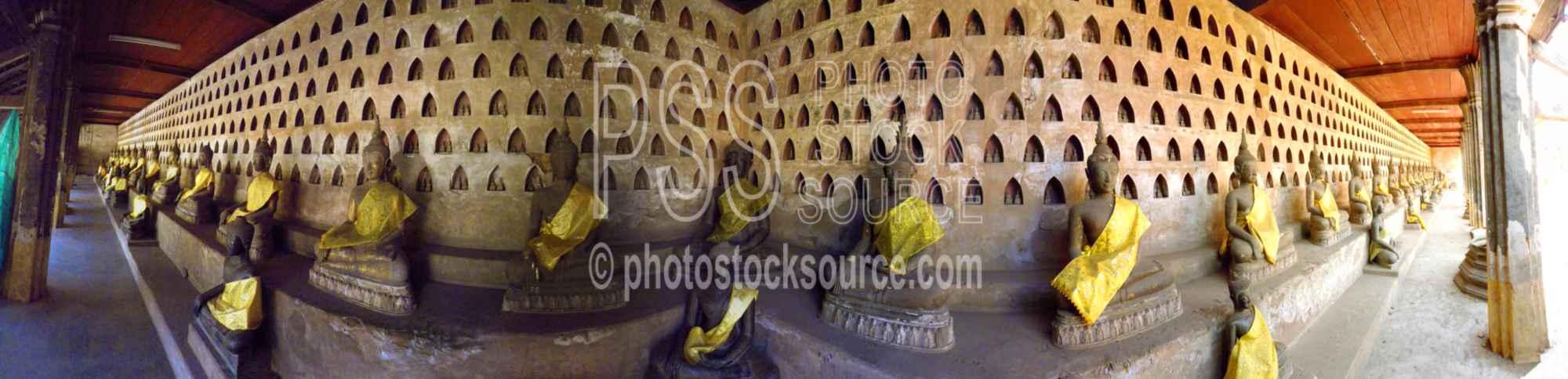 Wat Si Saket Cloister Buddhas