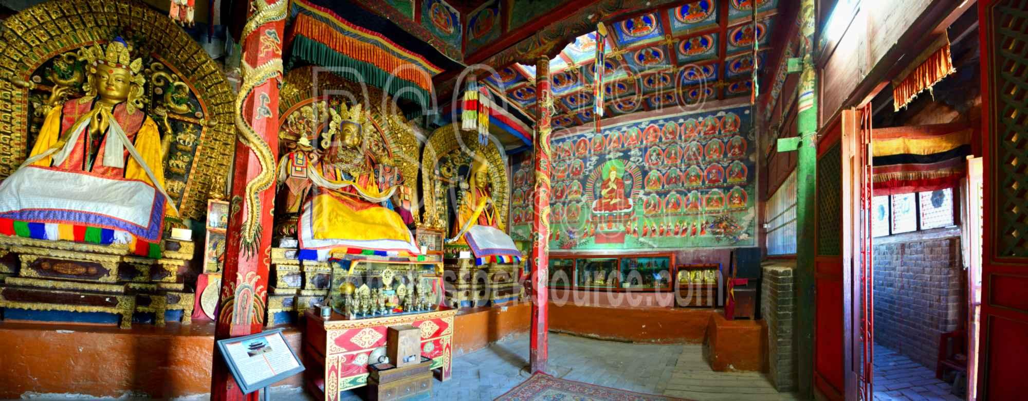 Erdene Zuu Temple Interior
