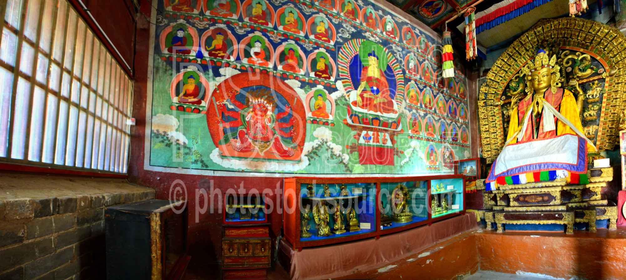Erdene Zuu Temple Wall Mural