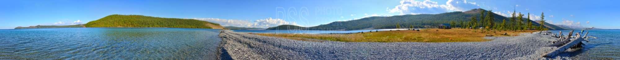 Lake Khosvsgol Gravel Bar