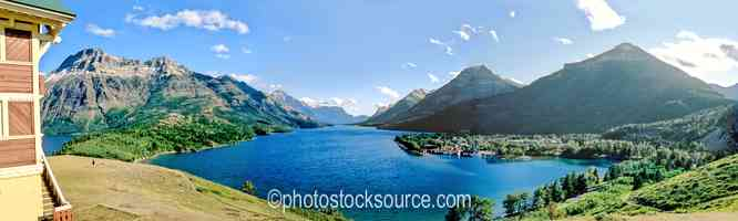Waterton Lake Afternoon