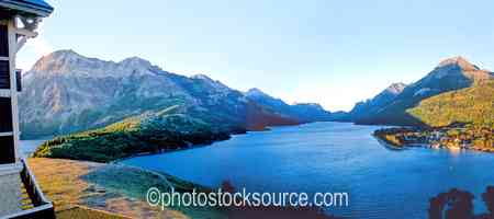 Waterton Lake Sunrise