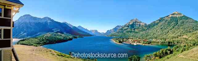 Waterton Lake Morning