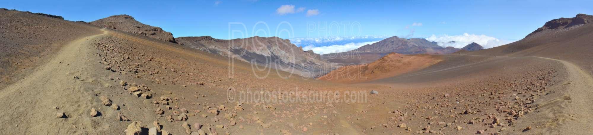 Haleakala Crater Trails