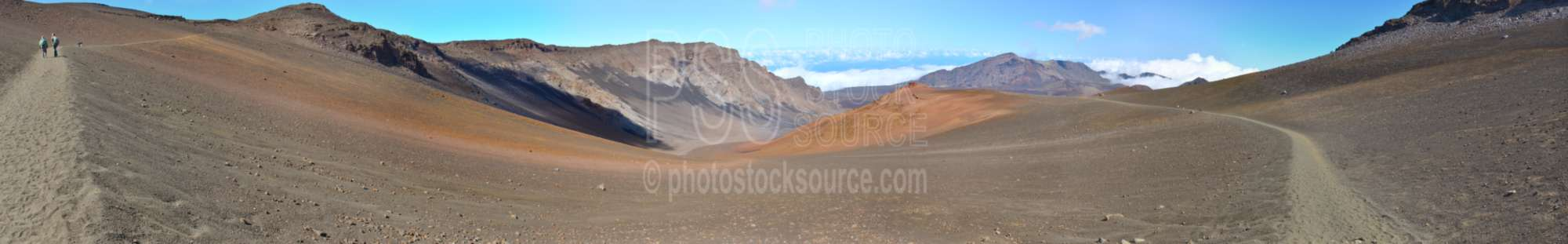 Haleakala Crater Trails