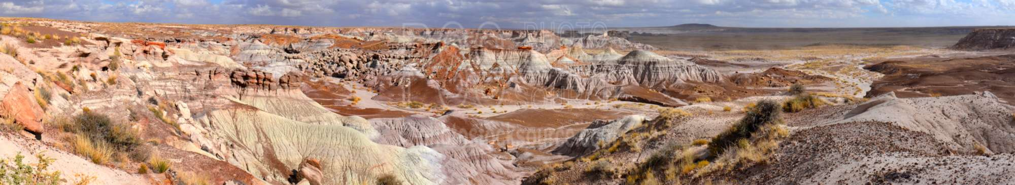 Painted Hills from Blue Mesa