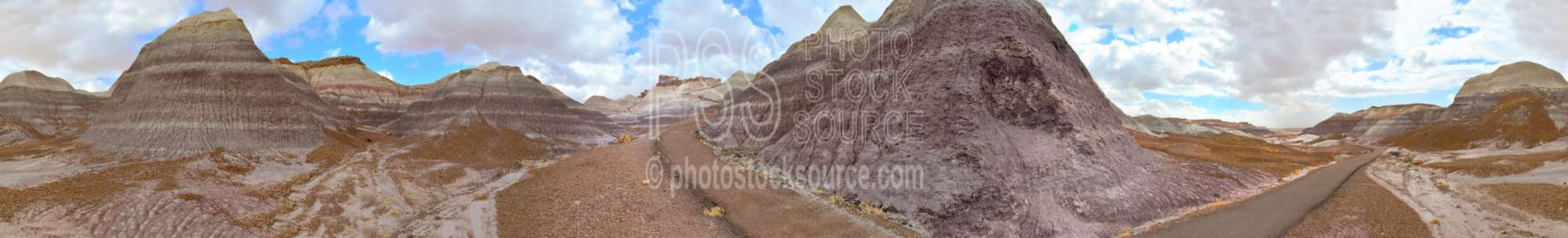 Painted Hills Blue Mesa Trail