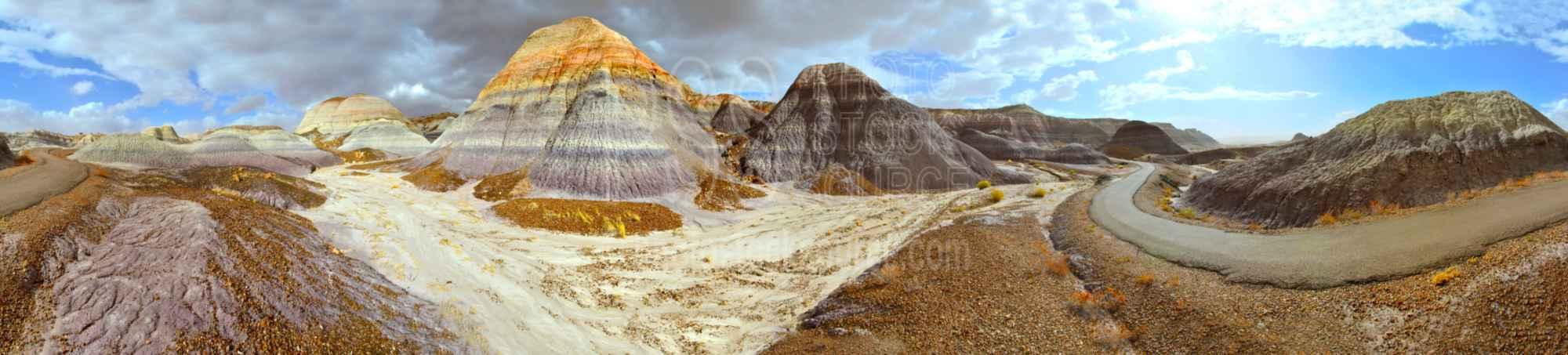 Sun on Blue Mesa Trail