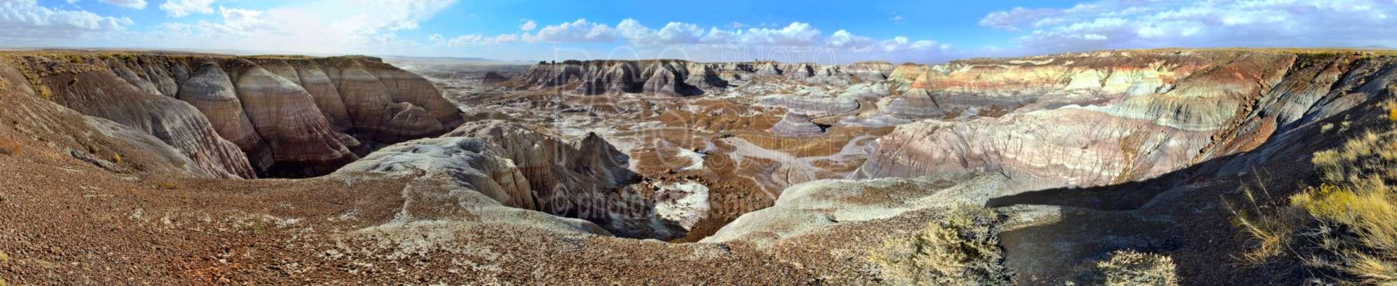 Blue Mesa Trail  Overlook