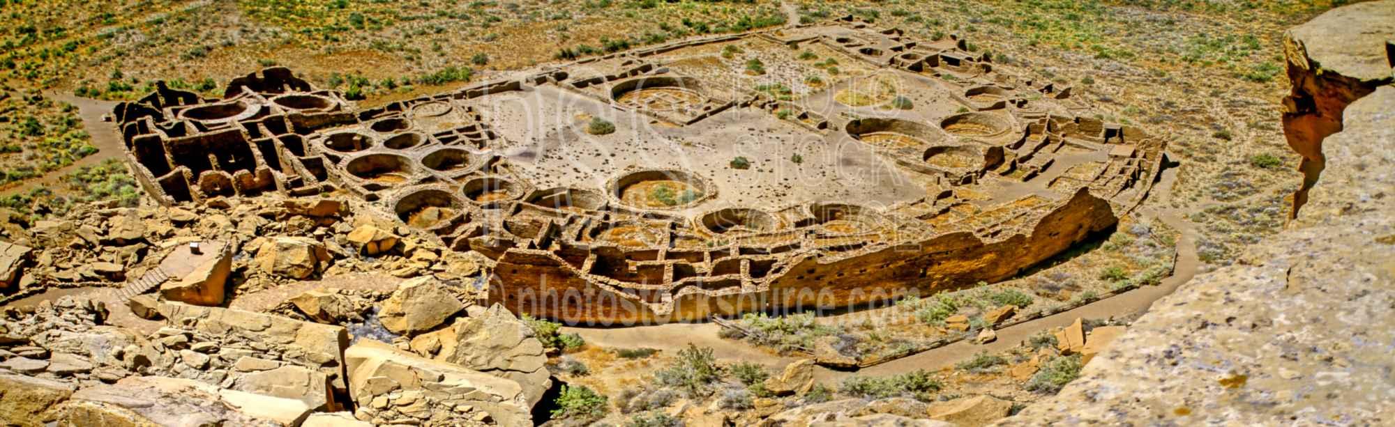 Pueblo Bonito Walls