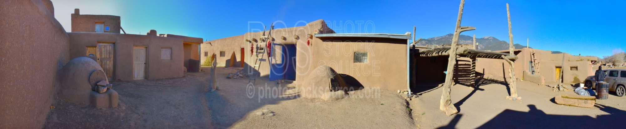 Taos Pueblo Beehive Oven