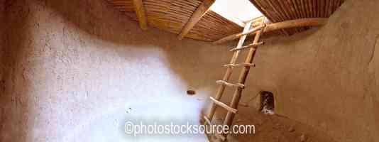 Alcove House Kiva Interior