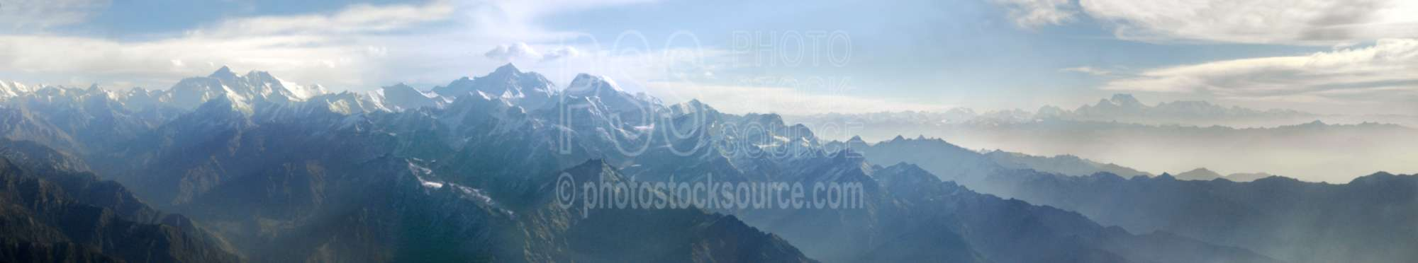 Mt. Everest in the Himalayas