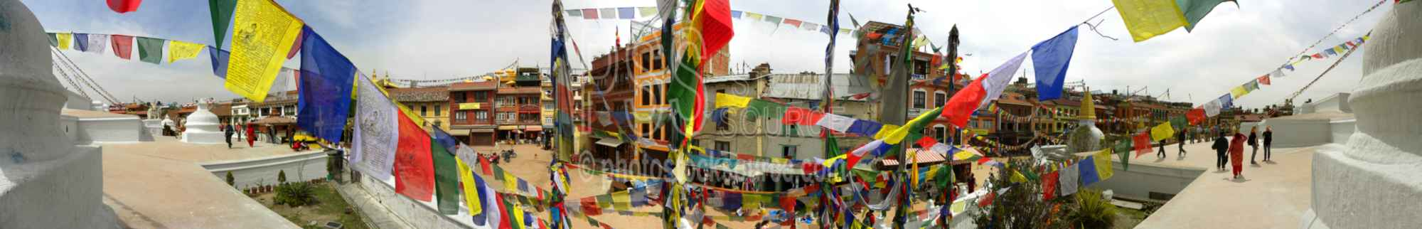 Boudhanath Stupa Prayer Flags