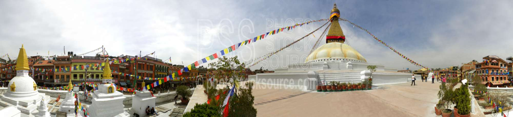 Boudhanath Stupa Prayer Flags