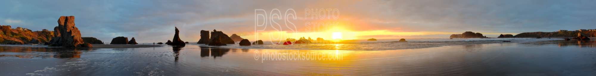 Sunset from Bandon Beach