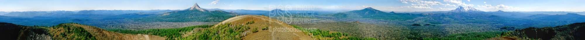 From Belknap Crater