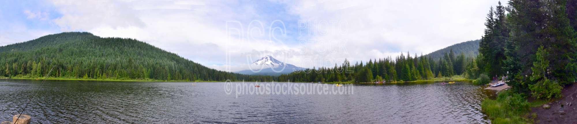 Mt. Hood over Trillium Lake