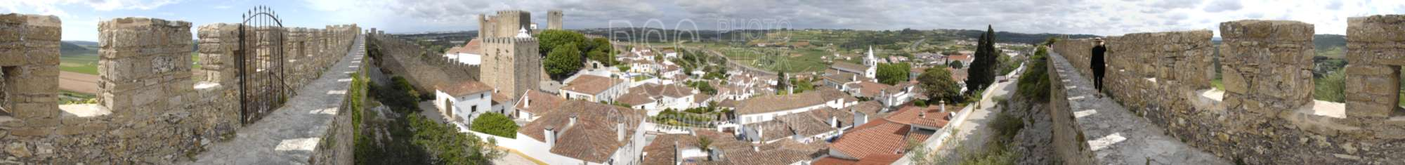 From Obidos North Wall