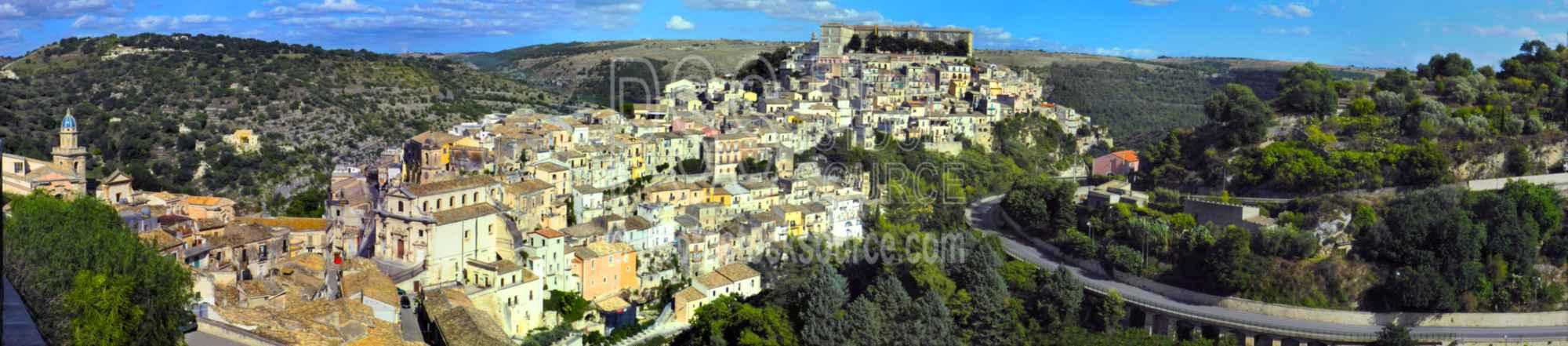 Ragusa Ibla Houses