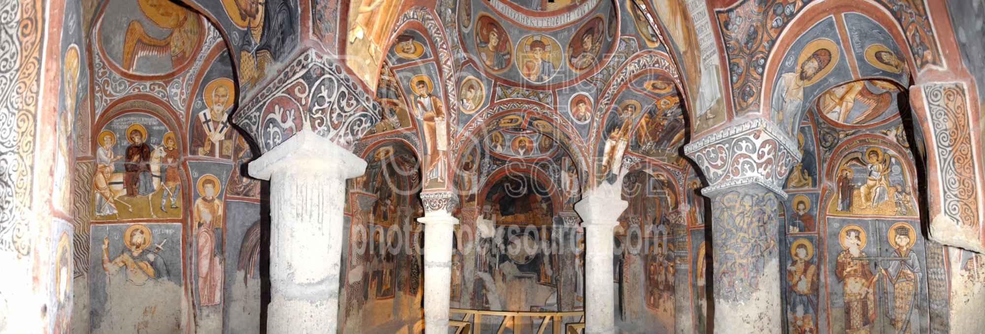 Dark Church Frescos