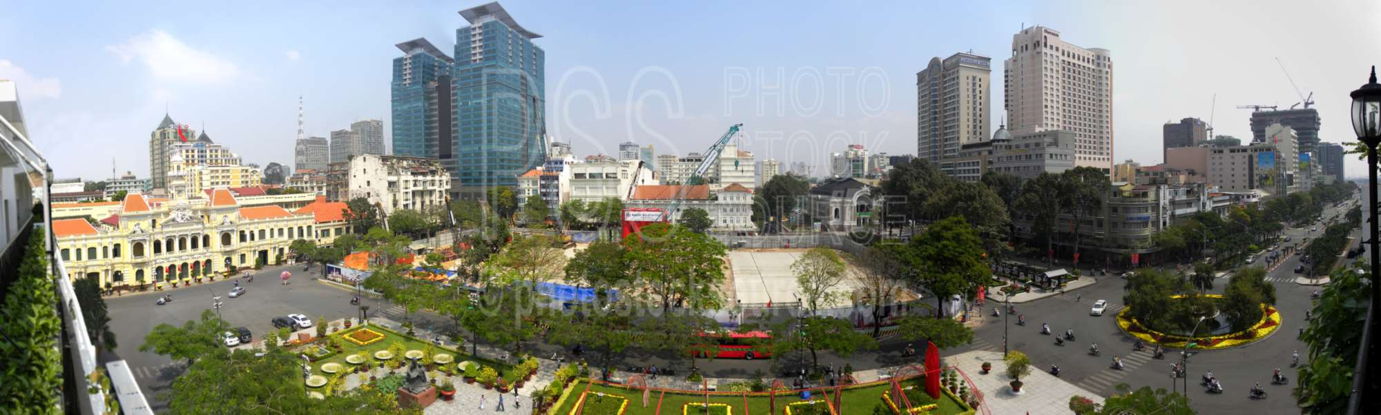 Downtown Saigon