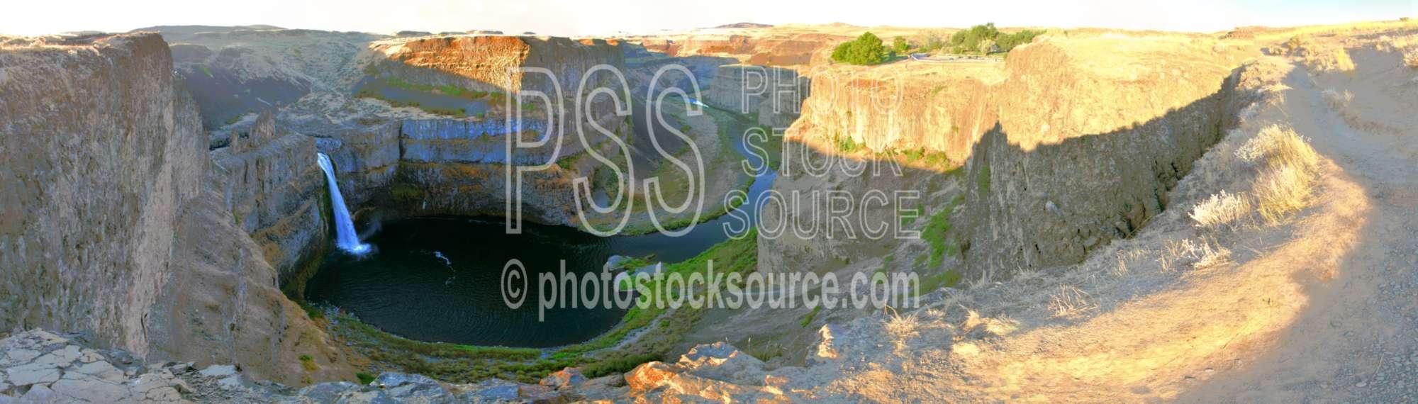 Palouse Falls at Sunrise